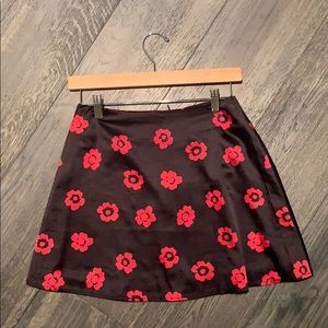 Princess Polly floral skirt size 6